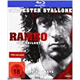 "Rambo - The Trilogy - The Ultimate Edition (Uncut) [Blu-ray]von ""Sylvester Stallone"""