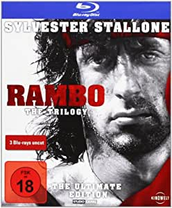 Rambo - Trilogy - Uncut/The Ultimate Edition [Alemania] [Blu-ray]
