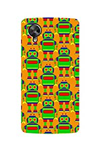 ZAPCASE Printed Back Case for GOOGLE NEXUS 5