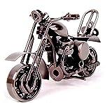 EQLEF® Creative-Eisen Motorradmodell Motorrad moderne Ornamente Geburtstagsgeschenk für ihren Freund Fotografie Props