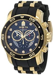 Invicta Men's 6981 Pro Diver Collection Chronograph Black Dial Black Dress Watch