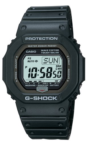 Casio Men's GW5600J-1 G-Shock Atomic Tough Solar