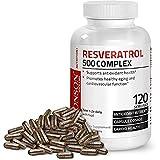 Bronson Resveratrol 500 Complex, 120 Capsules (Tamaño: 120 Capsules)