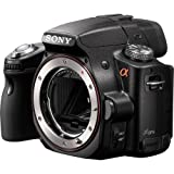 Sony Alpha SLT-A55V DSLR with Translucent Mirror Technology and 3D Sweep Panorama (Camera Body only) (Black)