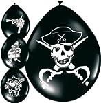 """Luftballons """"Piratensch�tze"""" 8er Pack"""