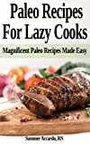 Paleo Recipes For Lazy Cooks: Magnificent Paleo Recipes Made Easy