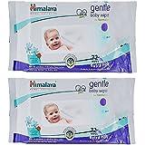 Himalaya Gentle Baby Wipes 72+72 Pcs Combo