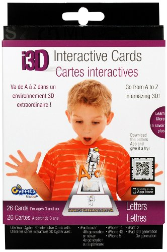i3D Interactive Cards- Letters - 1