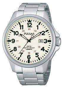 Pulsar Uhren Men's Quartz Watch Sport PG8223X1 with Metal Strap