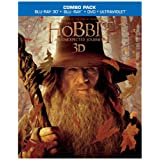 The Hobbit: An Unexpected Journey (Blu-ray 3D/Blu-ray/DVD + UltraViolet Digital Copy Combo Pack) ~ Ian McKellen