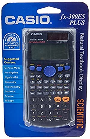 Calculadora Científica Casio fx-300ES PLUS, negro
