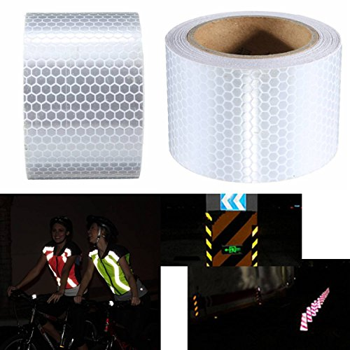 king-do-way-5cm-x-5m-reflektierende-band-gewebeband-warnband-panzerband-fluoreszierend-weiss