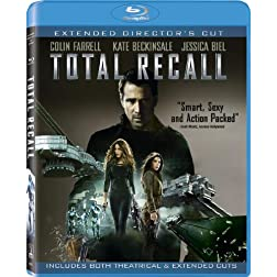 Total Recall (Two Discs: Blu-ray + UltraViolet Digital Copy) [Blu-ray]