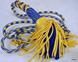 Bishops Clergy Tassle Pectoral Cord Blue Gold Bullion