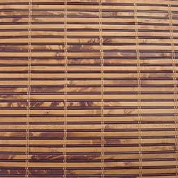 Woven Wood Roman Shades, 35W x 36H, Winthrop Camel