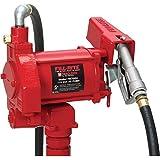 Fill-Rite FR700V Fuel Transfer Pump, 12' Delivery Hose, Manual Release Nozzle - 115 Volt, 20 GPM