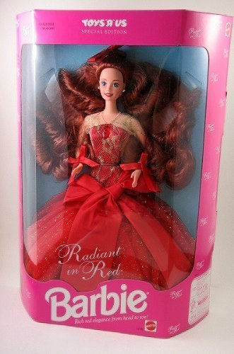 Barbie Collector Doll Toys R Us Special Edition Radiant in Red (Red Barbie compare prices)