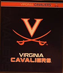 Virginia Cavaliers 3 Ring Binder, One Inch