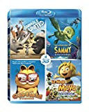 Pack Animales 3D: Las Aventuras De Sammy + Animals United + Maya + Garfield [Blu-ray]