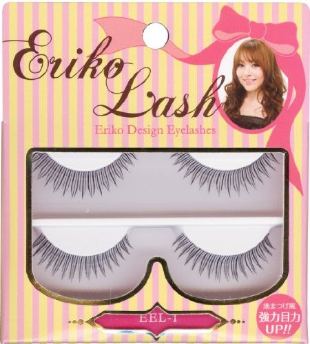 Produce false eyelashes Jericho Rush Natural EEL-1 Muraki Eriko ...
