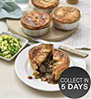 Steak, Stout & Peppercorn Pie