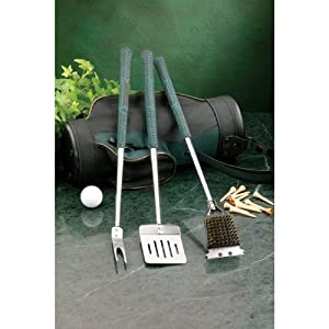 Golf Gifts & Gallery Bar-B-Que Set Golf Bag. by Golf Gifts & Gallery