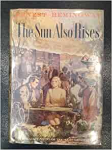 an analysis of the lost generation in the novel the sun also rises by ernest hemingway Our reading guide for the sun also rises by ernest hemingway  analysis can convey the quality of the sun  novel is about the lost generation, do.