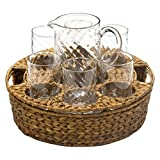 Garden Terrace Beverage Set with Pitcher