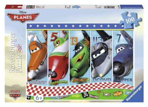 Ravensburger Disney Planes: Invincible Planes (100-Piece) Puzzle