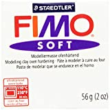 Fimo Soft Polymer Clay 2 Ounces-8020-0 White