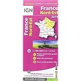 802 FRANCE NORD-EST 2014  1/350.000