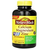 NatureMade Calcium Magnesium Zinc (out best Vitamin for Teeth)