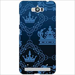 Asus Zenfone Max ZC550KL Back Cover - Silicon Crown Designer Cases
