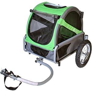 Doggyride Mini Dog Bike Trailer - Urban Green from Montare LLC