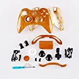 Generic Hydro Dipped Wood Grain Full Housing Shell For Xbox 360 Controller