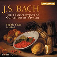 J.S. Bach: The Transcriptions of Concertos by Vivaldi and the Marcello brothers