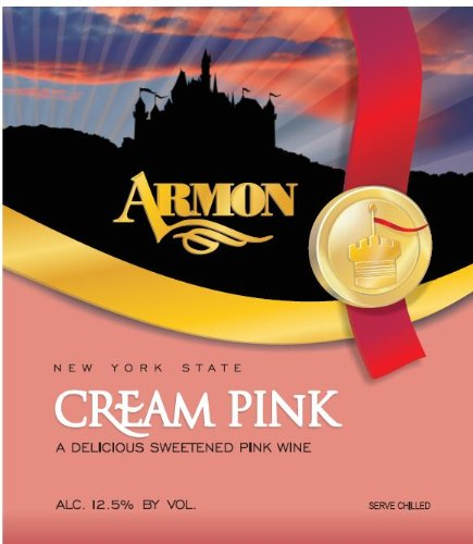 Nv Armon Cream Pink New York Rosé 1.5 L