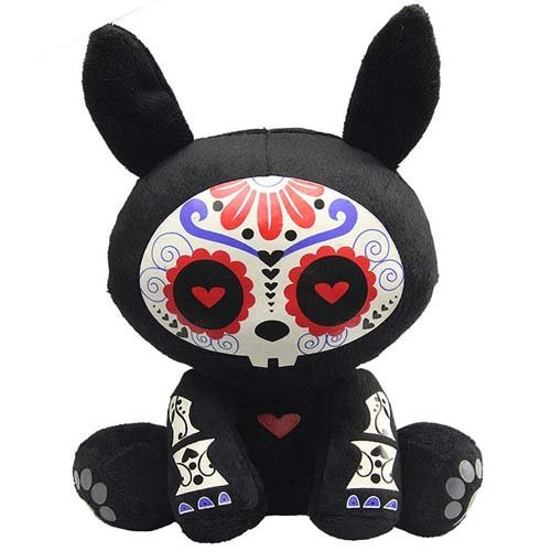 Skelanimals Day of the Dead Jack (Rabbit) 6-Inch Plush by Skelanimals