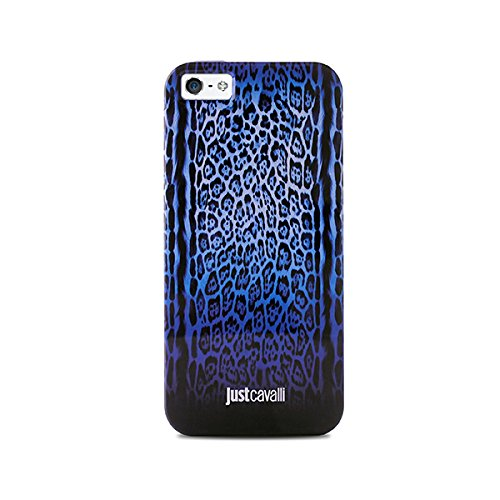 Puro JCIPC5LEOPARD2BLUE Iphone 5/5S Custodie