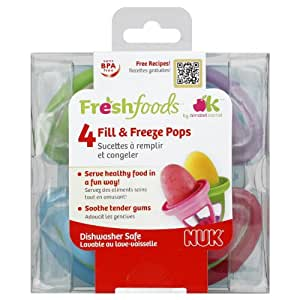 NUK Fill & Freeze Pops (Discontinued by Manufacturer)