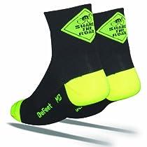 DeFeet Aireator Share the Road Socks,Black,Large