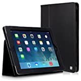 CaseCrown Bold Standby Case (Black) for iPad 4th Generation with Retina Display, iPad 3 & iPad 2 (Built-in magnet for sleep / wake feature)by CaseCrown