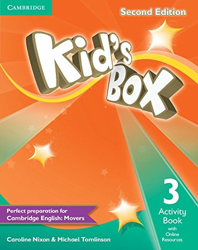 Kid's Box Level 3 Activity Book with Online Resources Second Edition