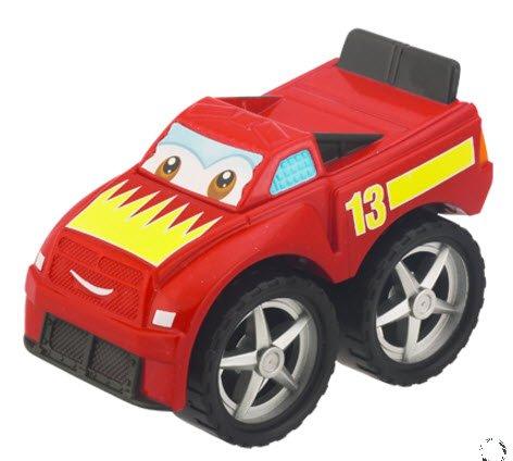 Tonka CHUCK & Friends Twist Trax Diecast BLURR [Red Sport Truck] - 1
