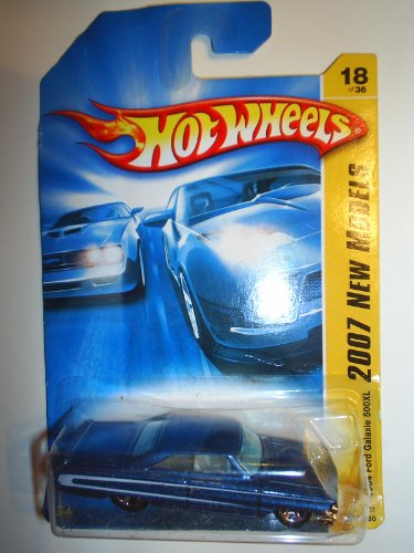 1964 Ford Galaxie 500XL Blue Hot Wheels (2007 First Edition)