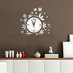 vv decorative wall clocks living room wall clock bedroom clock coffee shop. Black Bedroom Furniture Sets. Home Design Ideas
