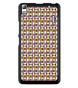 PrintDhaba Pattern D-5931 Back Case Cover for LENOVO A7000 PLUS (Multi-Coloured)