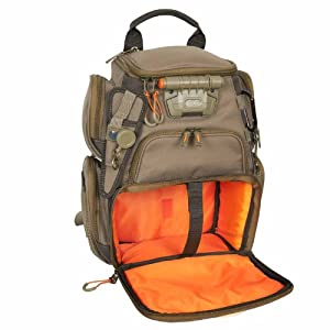 Wild River by CLC WN3503 Tackle Tek Recon Lighted Compact Backpack (Trays Not... by Custom Leathercraft