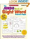 The Jumbo Book of Sight Word Practice...