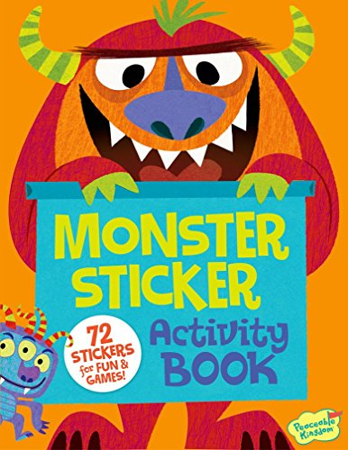 Peaceable Kingdom Monster Sticker Activity Book